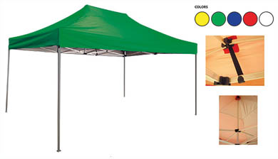 CARPA DE ACERO 3x4,5 MT.